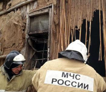 Два дома и гараж сгорели в Астраханской области