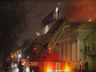 В Астрахани сгорел исторический кинотеатр с реликтовым садом, но крокодил спасся (ВИДЕО)