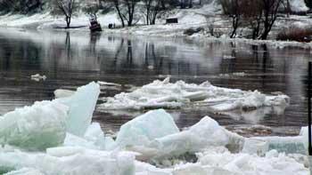 Зимний паводок продолжится