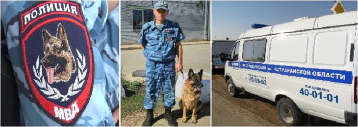 В Астраханской области овчарка отыскала велосипед мальчика