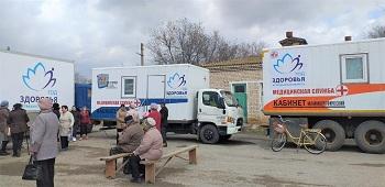 Поезд здоровья начал работу в Икрянинском районе