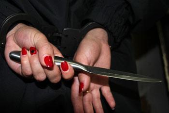 Под Астрахань женщина зарезала родного брата