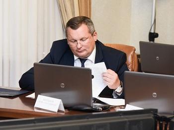 Спикер Думы Игорь Мартынов принял участие в заседании областной антинаркотической комиссии