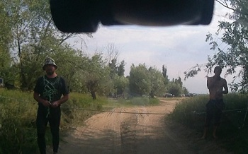 В Астрахани незаконно захвачен пляж КРХФ