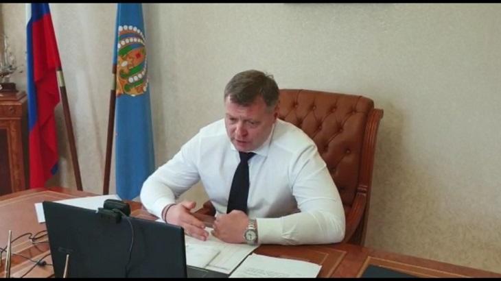 Астраханский губернатор очертил круг основных проблем с коронавирусом