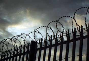 Зек спустил с лестницы тюремщика в Астрахани