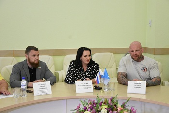 Астрахань посетил известный спортсмен Джефф Монсон