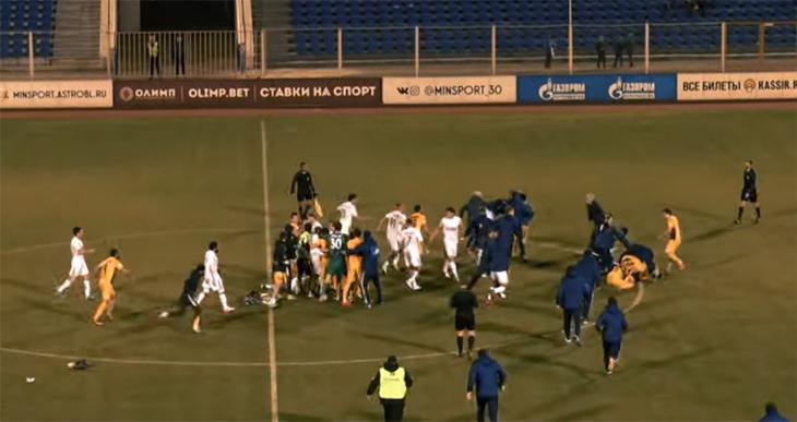 Стали известны последствия драки на Центральном стадионе в Астрахани