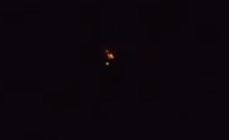 В небе под Астраханью снова сняли НЛО