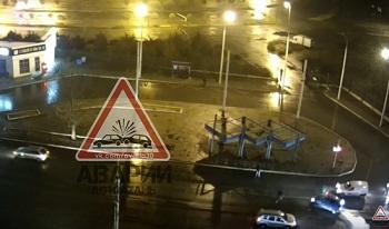 «Меня били менты!» В Астрахани такси гонялась за пешеходом и сбивала его