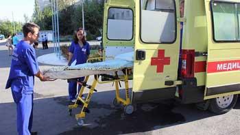 87,5% вызовов скорой помощи обслуживается в течение 20 минут