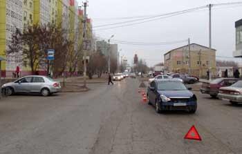 В Астрахани за один день на улицах попали под машины двое подростков (ВИДЕО)