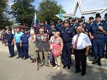 На аллее Воинской Славы 97 новобранцев приняли присягу