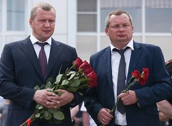 Врио губернатора и председатель облдумы поздравили пограничников