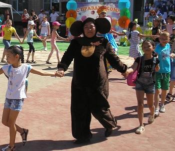 Как в Приволжском районе отметили День защиты детей