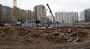 В микрорайоне Бабаевского строится детский сад