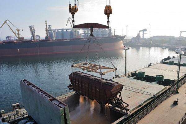 О ситуации в портах Каспийского бассейна