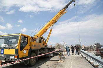 Кирикилинский мост будет открыт в ноябре. (Обновлено)