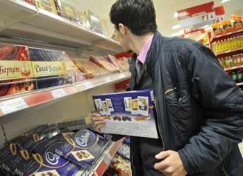 В Астрахани задержан грабитель-сладкоежка