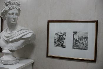 Выставка «Силуэты Астрахани» - в художественном училище