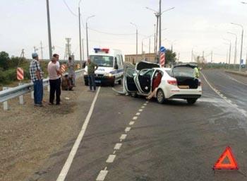Двое дагестанцев пострадали под Астраханью