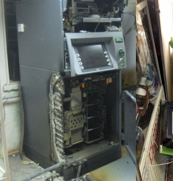Взорвавшие под Астраханью банкомат московские разбойники задержаны