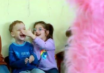 Астраханская молодёжь посетила реабилитационный центр для детей-инвалидов