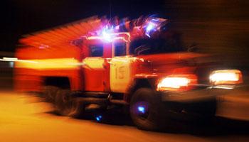 При пожаре в Астраханской области спасли четырёх человек