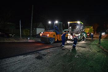 В Астрахани ремонтируют улицу Зеленую