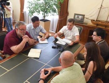 Александр Жилкин поддержал инициативы Центра «Каспий-Евразия»