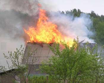 Два пожара в Астрахани за истекшие сутки
