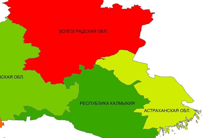 Астрахань, Волгоград и Калмыкию предложили объединить