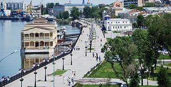 В Астрахани дали название набережной Волги и переименовали канал