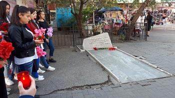 В Астрахани прошла акция памяти жертв трагедии в Керчи
