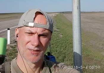 Калининградца, путешествующего вдоль Волги, нашли без сознания рыбаки