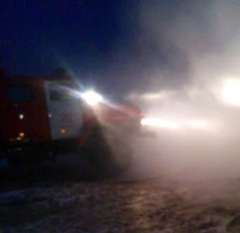 Пять пожаров за вечер произошло в Астраханской области: спасены 7 человек