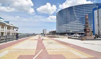 В День города состоится открытие нового променада на набережной Волги