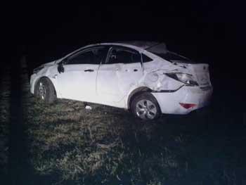 Пьяный сельчанин устроил аварию, в которой погиб его пассажир
