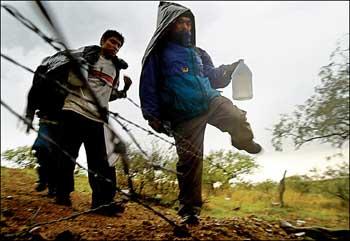 Двое жителей региона организовали незаконный канал миграции. Их задержание попало на видео