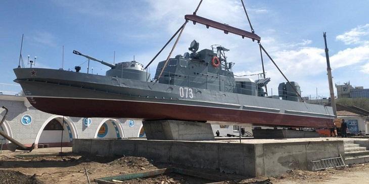 На День Победы в Астрахани откроют памятник морякам-героям