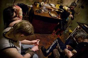В Советском районе Астрахани полиция накрыла наркопритон
