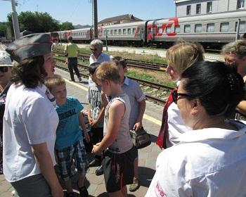 На астраханском железнодорожном вокзале есть «главные пассажиры»