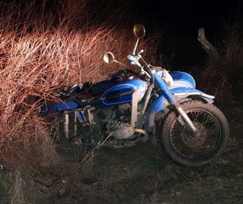 Под Астраханью погиб мотоциклист
