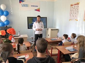 В Астрахани открылся интерактивный класс образовательной площадки «Учим-Знаем»