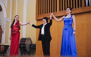 При поддержке ЛУКОЙЛа в астрахани прошел благотворительный концерт «весенние голоса»