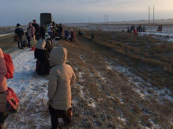 На трассе Астрахань-Элиста сгорел рейсовый автобус. Рассказ пассажира