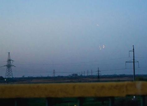 В Астраханской области сфотографированы неопознанные объекты в небе
