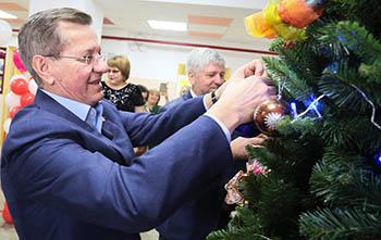 Поздравление губернатора Астраханской области А.А. Жилкина с Новым годом