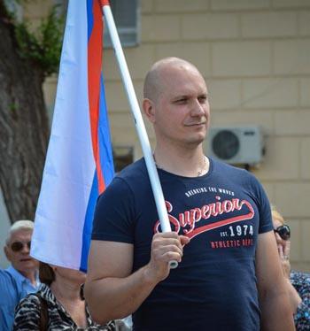 Член штаба ОНФ в Астраханской области Максим Терский о дорожной проблеме