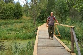 За три месяца калинградец прошел вдоль Волги от Астрахани до Кинешмы